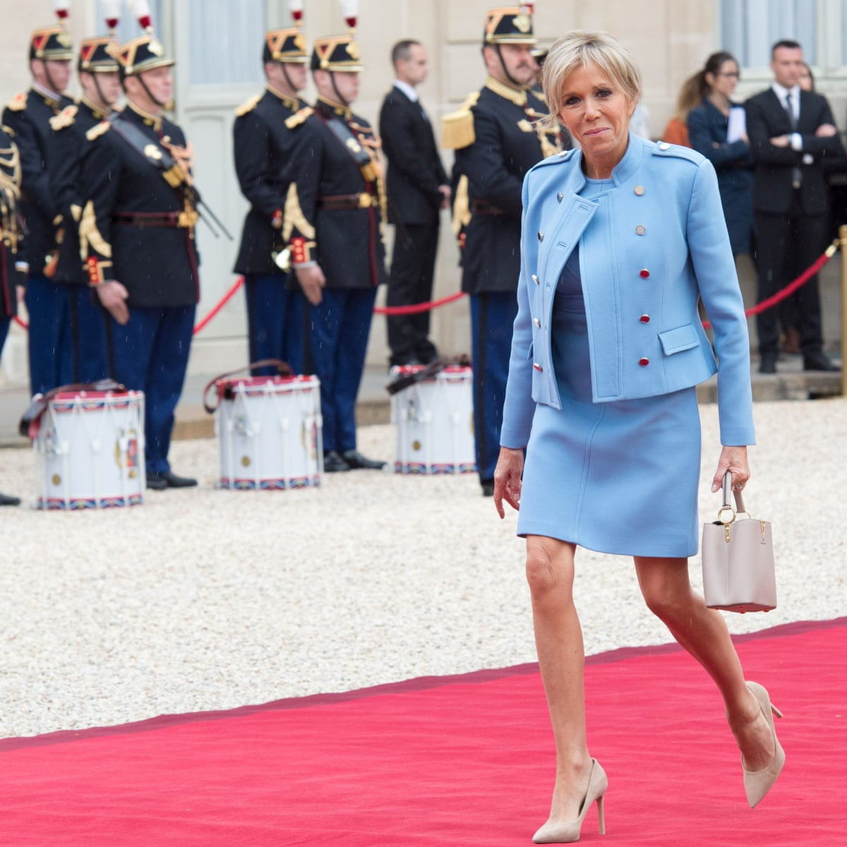 Why Brigitte Macron Is The Most Loved French First Lady For Years World News The Guardian
