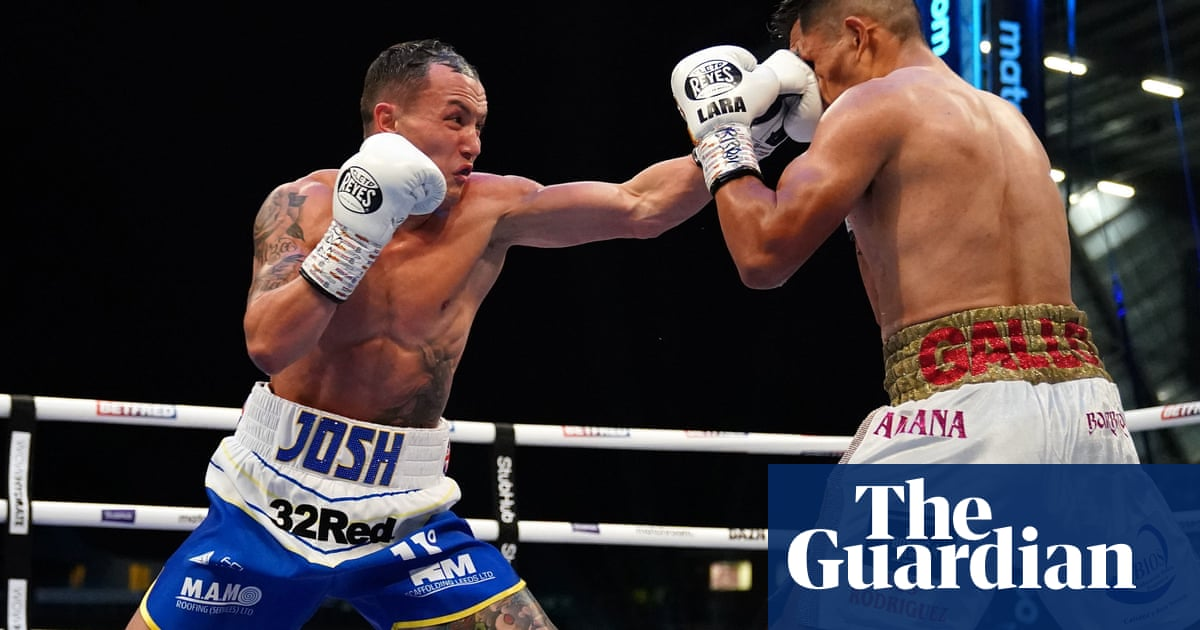 Josh Warrington likely to seek decisive Lara fight before either can move on