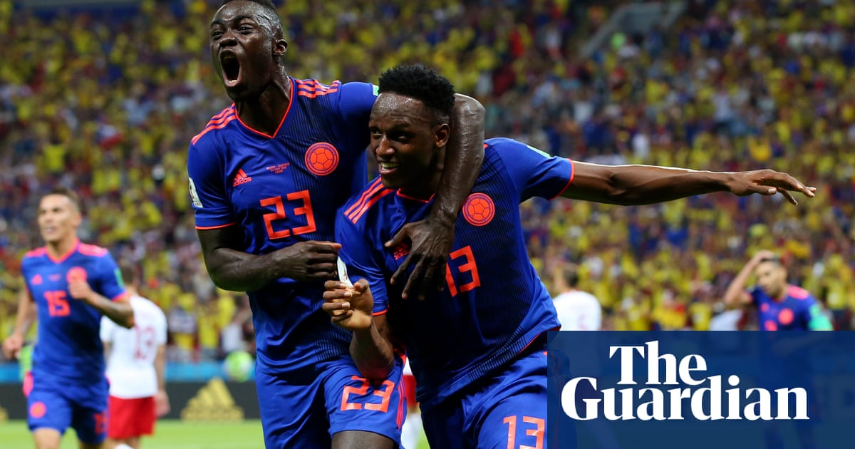 297bca571 Colombia s triple hammer blow dumps Poland out of World Cup ...