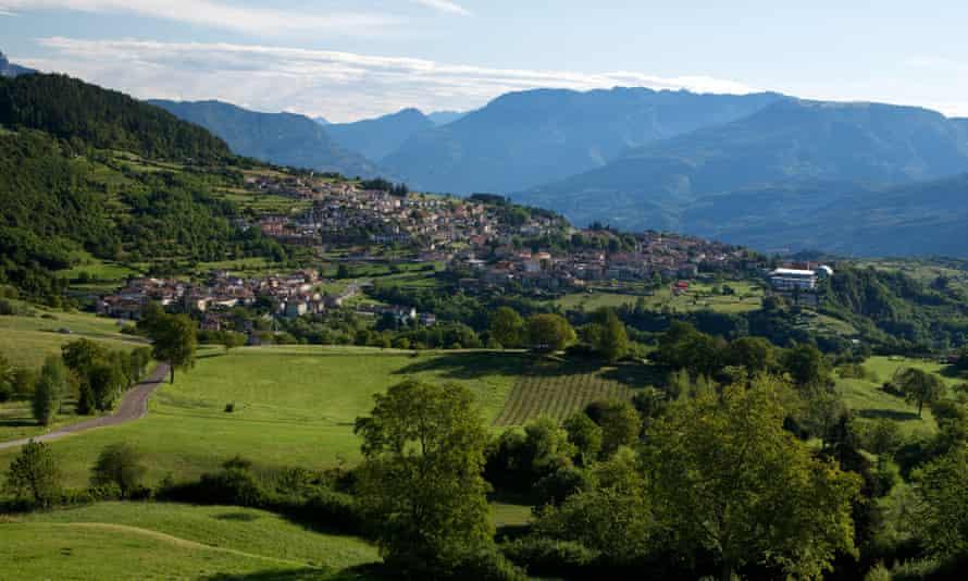 The Brentonico plateau in Trentino, Italy.