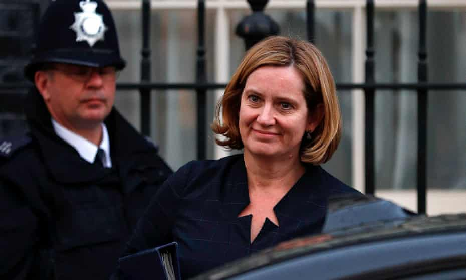 Amber Rudd is facing a Commons showdown with her Labour counterpart, Diane Abbott.
