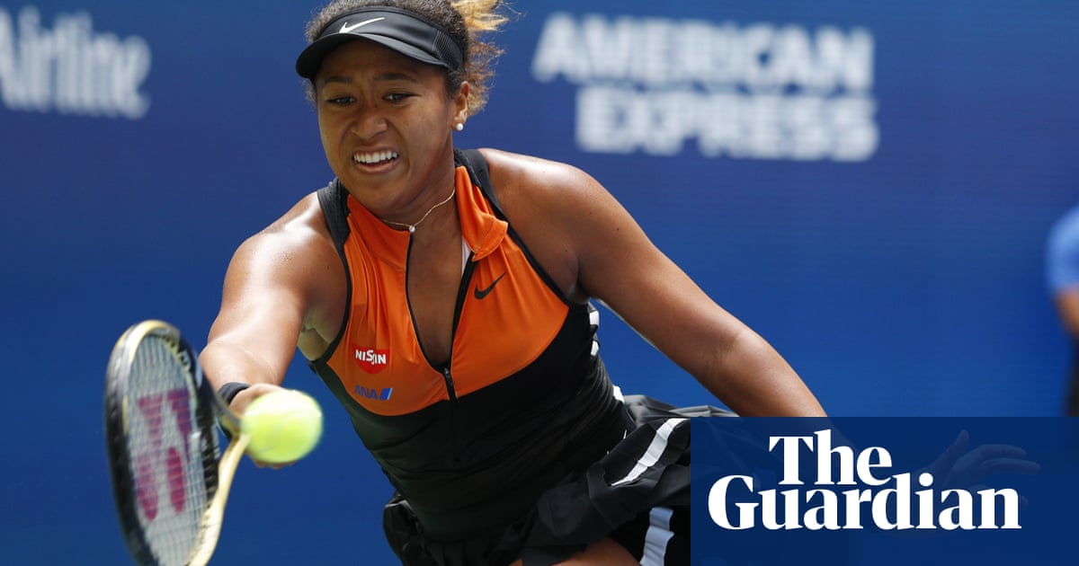 Naomi Osaka blows hot and cold but knocks Anna Blinkova out of US Open