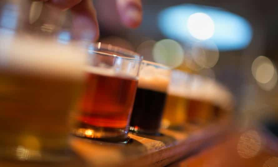 Craft beers have taken off in the US and are increasingly popular in Britain, challenging the traditional big players.