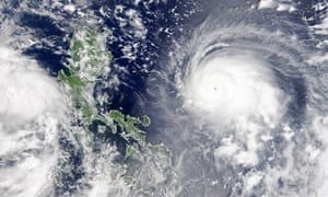 Typhoon Chanthu intensifying in the Philippine Sea