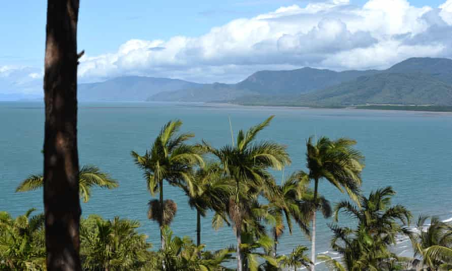 General view from Port Douglas in far north Queensland