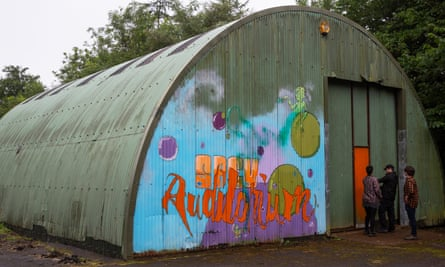 There had been plans to demolish the steel hut