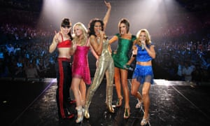 The Spice Girls in 2007.
