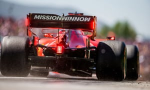 'Mission Winnow' is promoted on Ferrari F1 cars, which PMI says is not about its products.