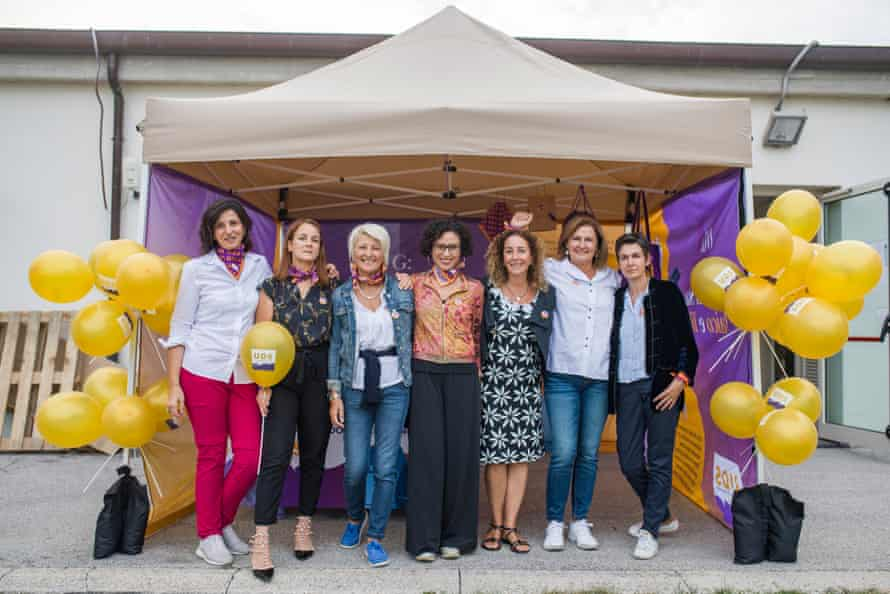 Participants at a UDS event. Women rarely speak about their experiences due to the risks involved and stigma surrounding abortion, although some have shared written testimonies anonymously with UDS