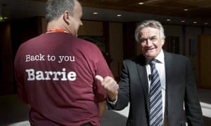 Insiders host Barrie Cassidy meets Mark Chandler from the Queensland branch of the Barrie Cassidy appreciation society.