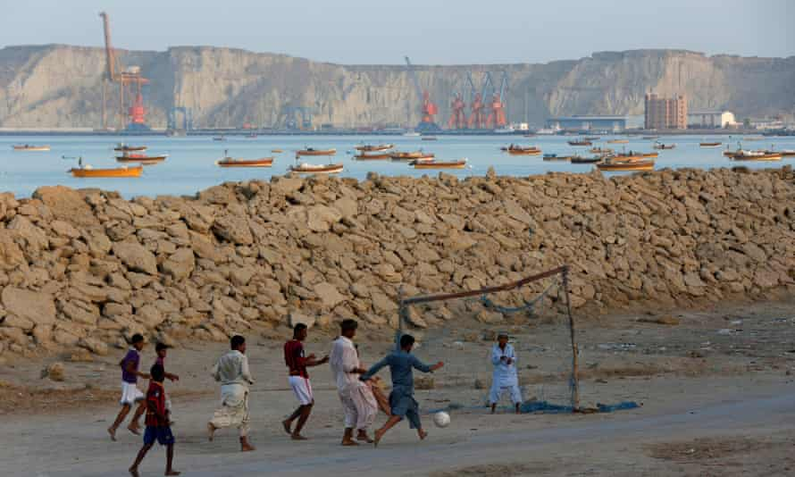 A Chinese-backed multinational corporation has a 40-year lease on Gwadar's port.