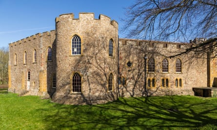 Taunton Castle, which houses the Museum of Somerset.