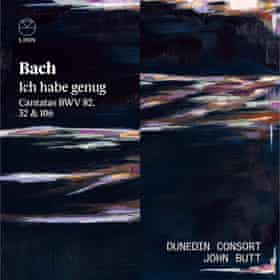 Cover artwork for Bach: Ich Habe Genug by the Dunedin Consort.