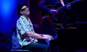 Jeff Goldblum with the Mildred Snitzer Orchestra at Cadogan Hall, London.