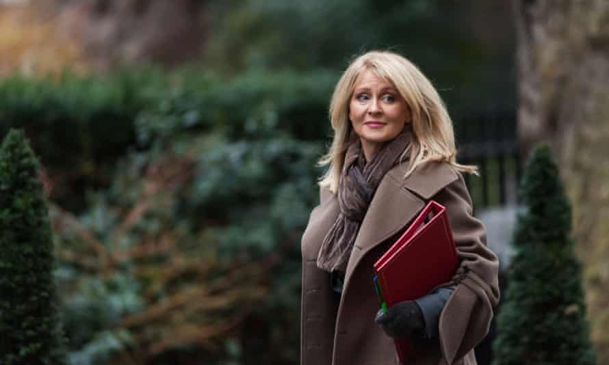 Esther McVey is a politician whose fiefdom is responsible for serious mental distress, advising a charity whose purpose is to help people overcome serious mental distress.