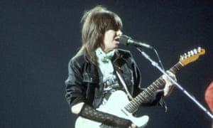 'I'm special' … Chrissie Hynde of the Pretenders.