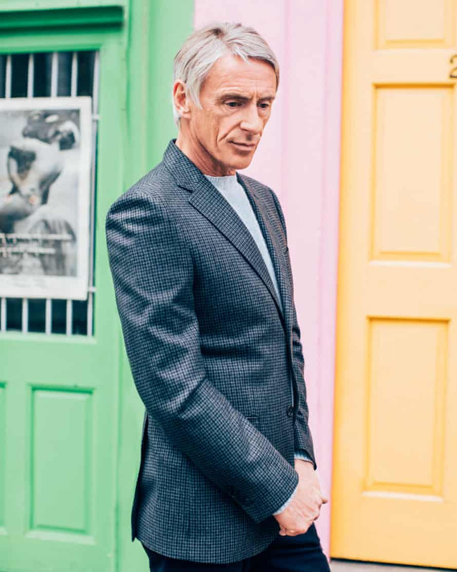 Paul Weller models a single-breasted Real Stars Are Rare blazer.