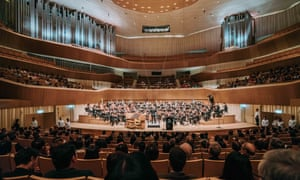 Pipe up … the centre's concert hall, home to Asia's largest organ.