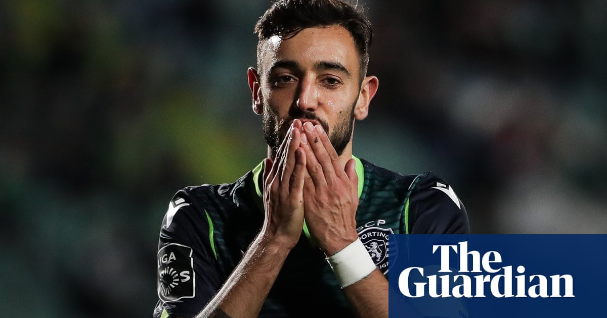Manchester United ready to firm up interest in Sporting's Bruno Fernandes
