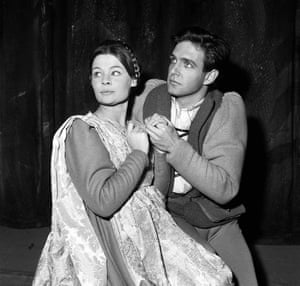 Romeo and Juliet October 1960 Judi Dench as Juliet and John Stride as Romeo at the Old Vic