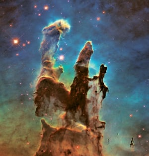 Eagle Nebula's 'Pillars of Creation,' 2015