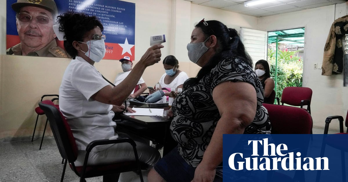 Cuba's health system buckles under strain of overwhelming Covid surge