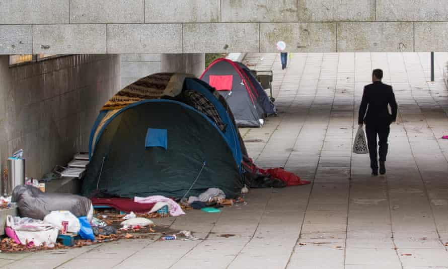 Homeless people risk losing the right to stay in the UK under new powers.