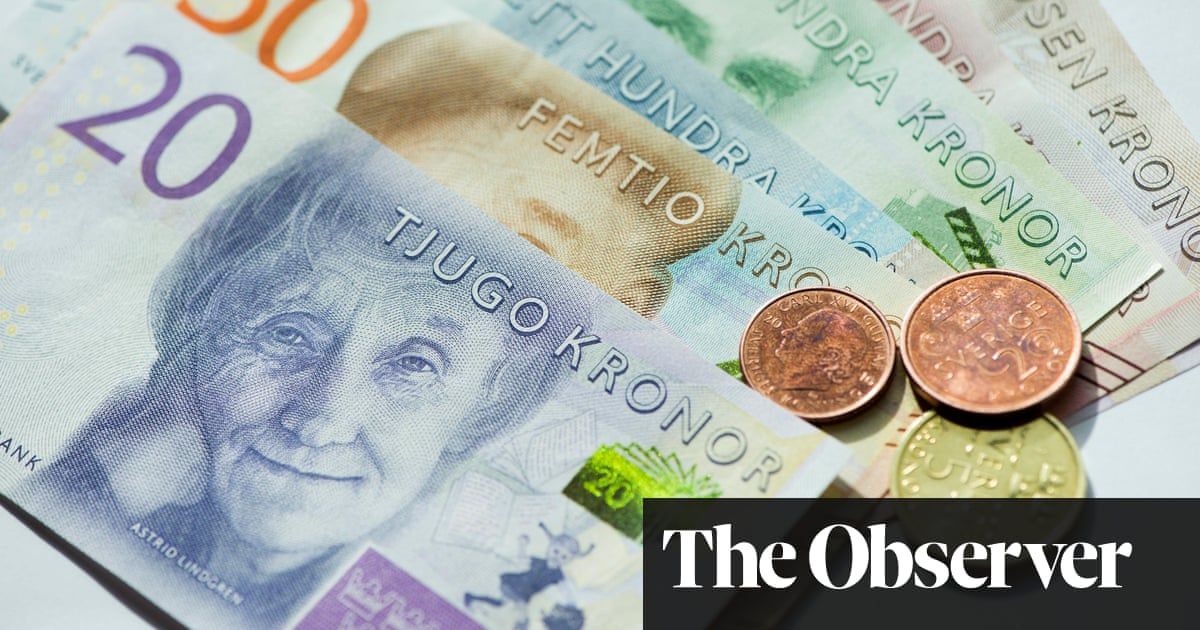 Sweden leads the race to become cashless society | Business | The ...