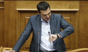 Alexis Tsipras now has time on his side.