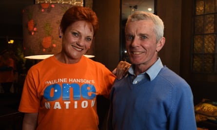 One Nation's Pauline Hanson and Malcolm Roberts