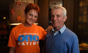 Malcolm Roberts and Pauline Hanson