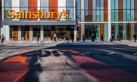 A Sainsbury's store in London