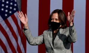 Democratic Vice Presidential nominee Kamala Harris campaigning in Las Vegas earlier this week.