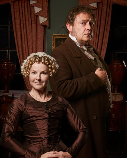 Sarah Hadland and John Thomson in the BBC's The Moonstone