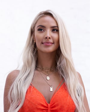 'With True Love or True Lies?, we're aiming to fill that gap after Love Island': Maya Jama photographed in the MTV offices, London.