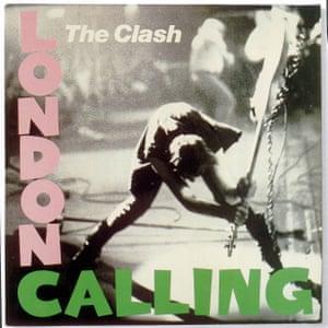 The Clash's London Calling album