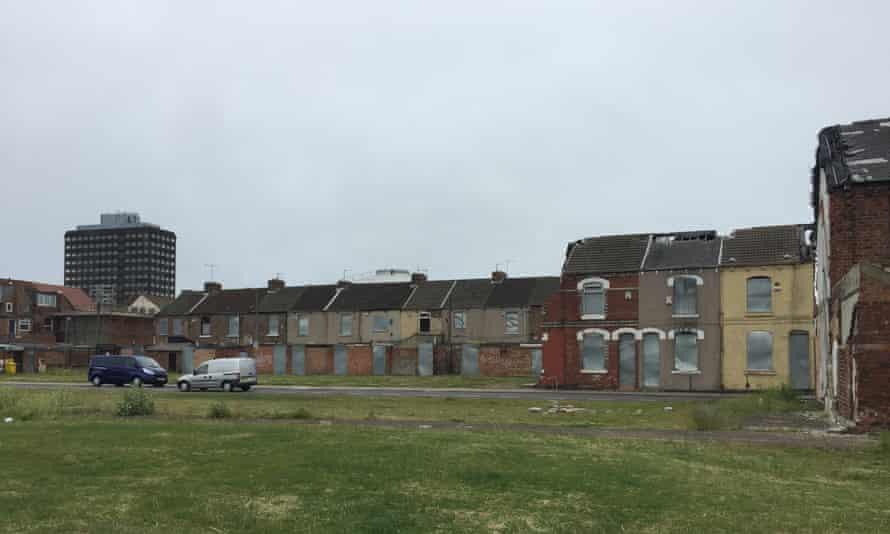 Empty houses.
