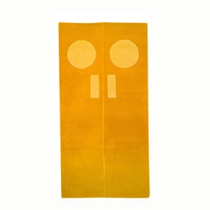Gary Hume door rug by Christopher Farr from Royal Academy