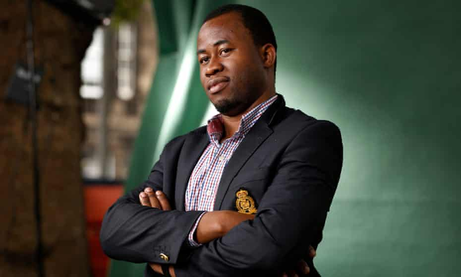 Chigozie Obioma, who was nominated for the Man Booker prize for The Fisherman.