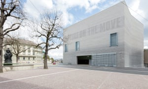 Material mastery, inside and out … the new Kunstmuseum in Basel.