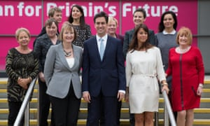 Ed Miliband and female Labour MPs