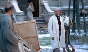 Ben Kingsley in Stonehearst Asylum, featuring the trope of doctors becoming patients