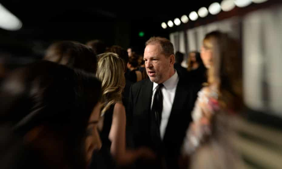 Harvey Weinstein at a post-Oscars party.