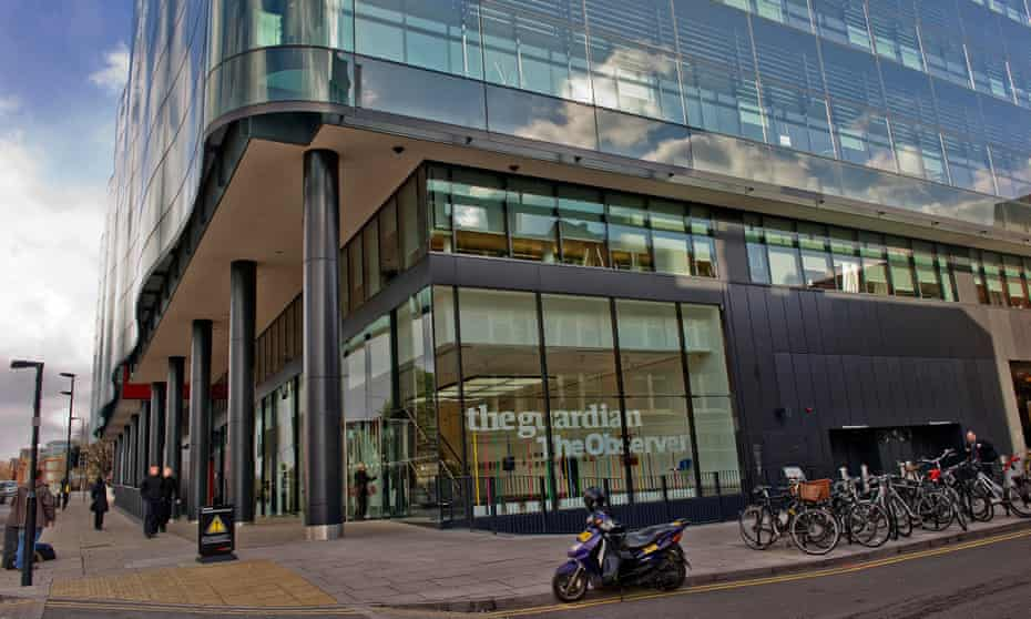 The Guardian offices at Kings Place, in King's Cross, London