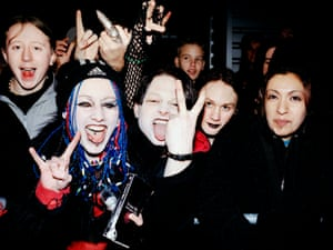 Marilyn Manson fans in 2001.