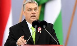 Hungarian prime minister Viktor Orbán.