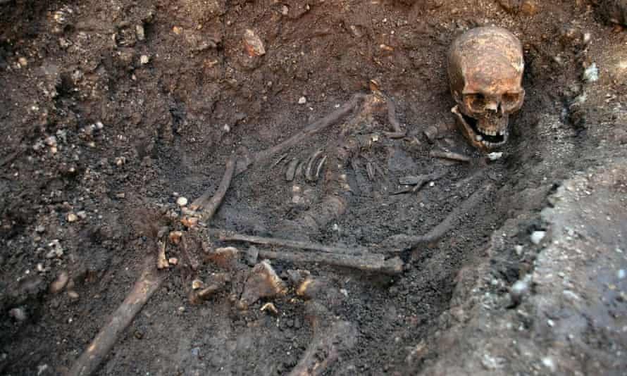 The remains of King Richard III were discovered in 2012 beneath a car park in Leicester.