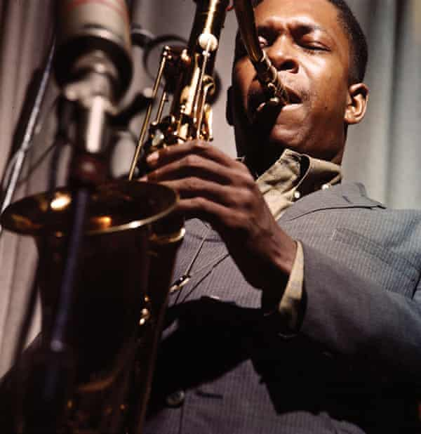 John Coltrane By Lee Friedlander.
