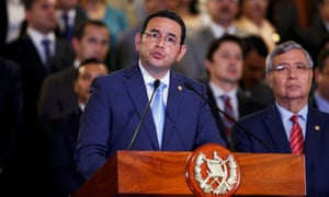 President of Guatemala, Jimmy Morales, on Monday claimed the decision to expel UN-backed mission was a result of its 'severe violation' of national and international laws.