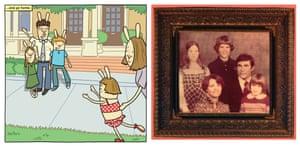 Cece Bell's family